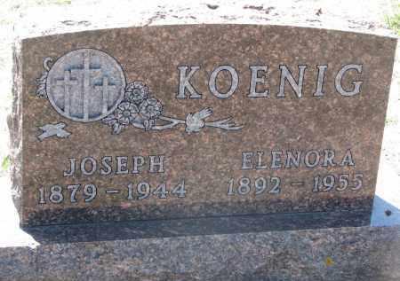 KOENING, JOSEPH - Bon Homme County, South Dakota | JOSEPH KOENING - South Dakota Gravestone Photos