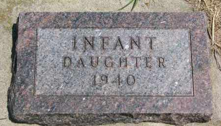 KOESTER, INFANT DAUGHTER - Bon Homme County, South Dakota   INFANT DAUGHTER KOESTER - South Dakota Gravestone Photos