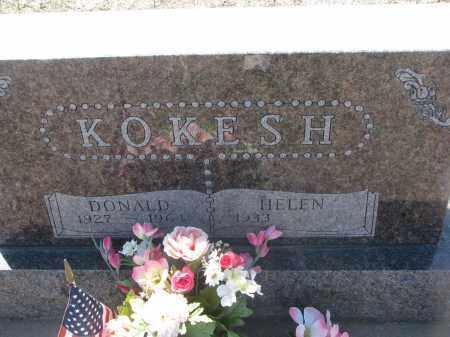 KOKESH, DONALD - Bon Homme County, South Dakota   DONALD KOKESH - South Dakota Gravestone Photos