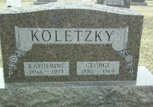 KOLETZKY, GEORGE - Bon Homme County, South Dakota   GEORGE KOLETZKY - South Dakota Gravestone Photos