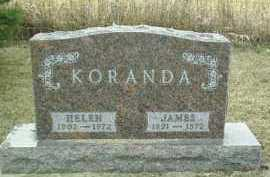 KORANDA, HELEN - Bon Homme County, South Dakota | HELEN KORANDA - South Dakota Gravestone Photos
