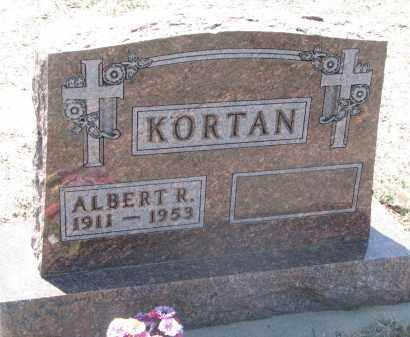 KORTAN, ALBERT R. - Bon Homme County, South Dakota | ALBERT R. KORTAN - South Dakota Gravestone Photos