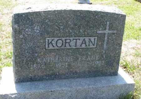 KORTAN, KATHERINE - Bon Homme County, South Dakota | KATHERINE KORTAN - South Dakota Gravestone Photos
