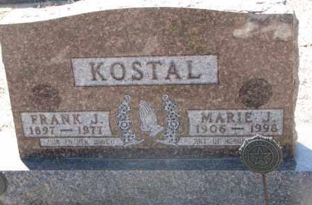 KOSTAL, MARIE J. - Bon Homme County, South Dakota | MARIE J. KOSTAL - South Dakota Gravestone Photos