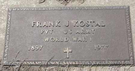 KOSTAL, FRANK J. (WW I) - Bon Homme County, South Dakota | FRANK J. (WW I) KOSTAL - South Dakota Gravestone Photos
