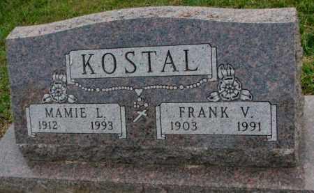 KOSTAL, FRANK V. - Bon Homme County, South Dakota | FRANK V. KOSTAL - South Dakota Gravestone Photos