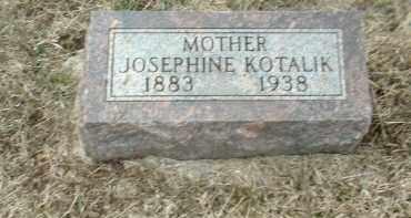KOTALIK, JOSEPHINE - Bon Homme County, South Dakota | JOSEPHINE KOTALIK - South Dakota Gravestone Photos