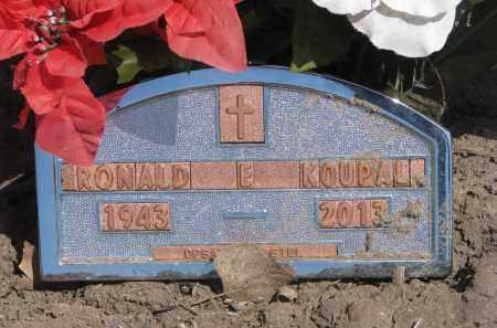 KOUPAL, RONALD E. - Bon Homme County, South Dakota | RONALD E. KOUPAL - South Dakota Gravestone Photos