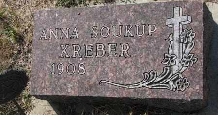 KREBER, ANNA - Bon Homme County, South Dakota | ANNA KREBER - South Dakota Gravestone Photos
