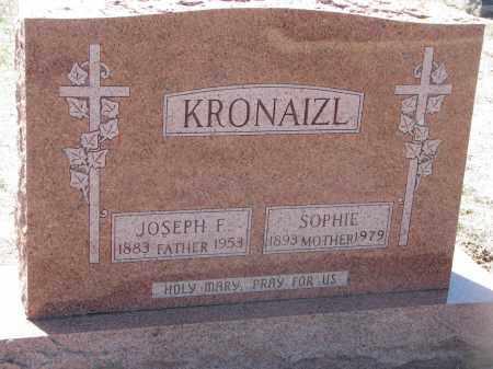 KRONAIZL, JOSEPH F. - Bon Homme County, South Dakota | JOSEPH F. KRONAIZL - South Dakota Gravestone Photos