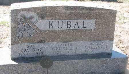KUBAL, ADELINE L. - Bon Homme County, South Dakota | ADELINE L. KUBAL - South Dakota Gravestone Photos