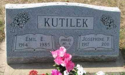 KUTILEK, EMIL E. - Bon Homme County, South Dakota | EMIL E. KUTILEK - South Dakota Gravestone Photos