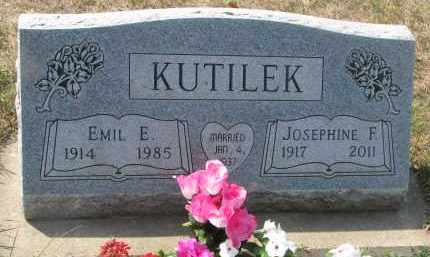 KUTILEK, JOSEPHINE F. - Bon Homme County, South Dakota | JOSEPHINE F. KUTILEK - South Dakota Gravestone Photos