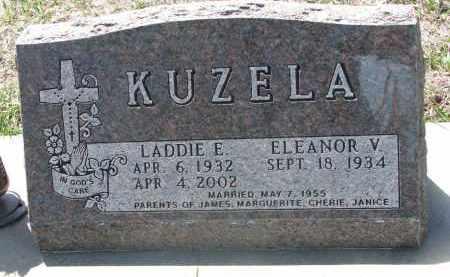 KUZELA, LADDIE E. - Bon Homme County, South Dakota   LADDIE E. KUZELA - South Dakota Gravestone Photos