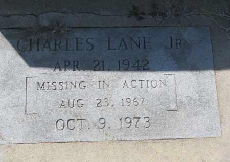 LANE, CHARLES JR. - Bon Homme County, South Dakota | CHARLES JR. LANE - South Dakota Gravestone Photos