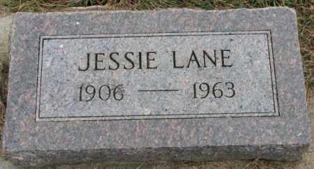 LANE, JESSIE - Bon Homme County, South Dakota | JESSIE LANE - South Dakota Gravestone Photos