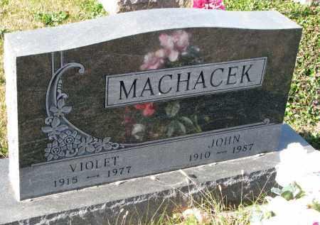 MACHACEK, JOHN - Bon Homme County, South Dakota | JOHN MACHACEK - South Dakota Gravestone Photos
