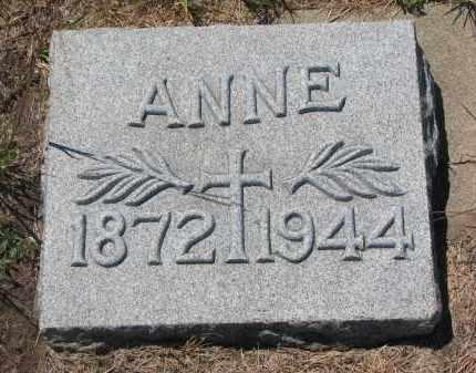 MALONE, ANNE - Bon Homme County, South Dakota   ANNE MALONE - South Dakota Gravestone Photos