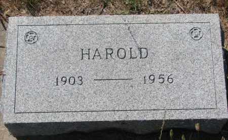 MALONE, HAROLD - Bon Homme County, South Dakota | HAROLD MALONE - South Dakota Gravestone Photos