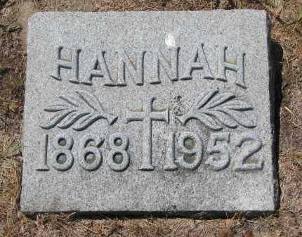 MALONE, HANNAH - Bon Homme County, South Dakota | HANNAH MALONE - South Dakota Gravestone Photos