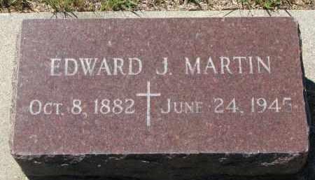MARTIN, EDWARD J. - Bon Homme County, South Dakota | EDWARD J. MARTIN - South Dakota Gravestone Photos