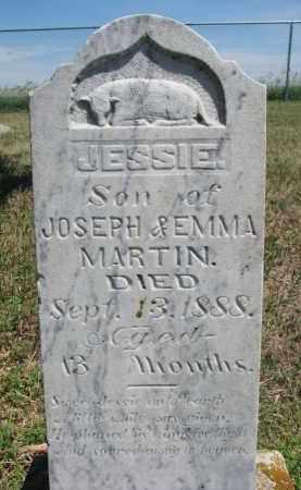 MARTIN, JESSIE - Bon Homme County, South Dakota   JESSIE MARTIN - South Dakota Gravestone Photos