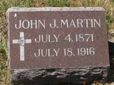 MARTIN, JOHN J. - Bon Homme County, South Dakota | JOHN J. MARTIN - South Dakota Gravestone Photos