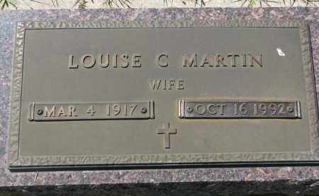 MARTIN, LOUISE C. - Bon Homme County, South Dakota   LOUISE C. MARTIN - South Dakota Gravestone Photos