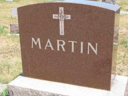 MARTIN, PLOT STONE - Bon Homme County, South Dakota | PLOT STONE MARTIN - South Dakota Gravestone Photos