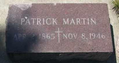 MARTIN, PATRICK - Bon Homme County, South Dakota   PATRICK MARTIN - South Dakota Gravestone Photos