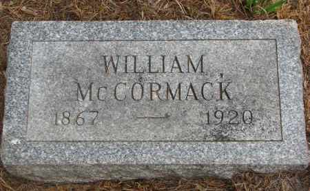 MCCORMACK, WILLIAM - Bon Homme County, South Dakota   WILLIAM MCCORMACK - South Dakota Gravestone Photos