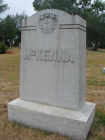 MCKENNA, PLOT STONE - Bon Homme County, South Dakota | PLOT STONE MCKENNA - South Dakota Gravestone Photos
