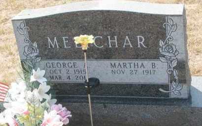 MELICHAR, MARTHA B. - Bon Homme County, South Dakota | MARTHA B. MELICHAR - South Dakota Gravestone Photos