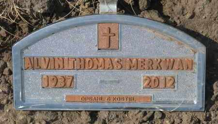MERKWAN, ALVIN THOMAS - Bon Homme County, South Dakota   ALVIN THOMAS MERKWAN - South Dakota Gravestone Photos