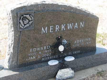 MERKWAN, EDWARD - Bon Homme County, South Dakota   EDWARD MERKWAN - South Dakota Gravestone Photos