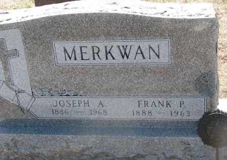 MERKWAN, JOSEPH A. - Bon Homme County, South Dakota | JOSEPH A. MERKWAN - South Dakota Gravestone Photos
