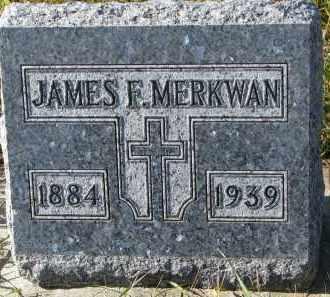 MERKWAN, JAMES F. - Bon Homme County, South Dakota | JAMES F. MERKWAN - South Dakota Gravestone Photos