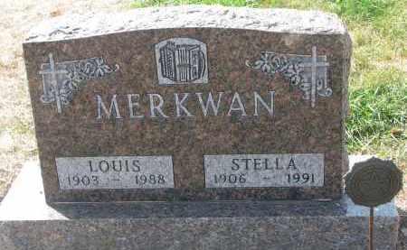 MERKWAN, STELLA - Bon Homme County, South Dakota | STELLA MERKWAN - South Dakota Gravestone Photos