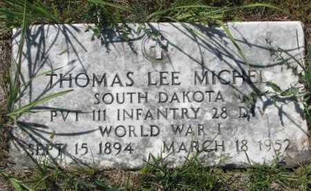 MICHEL, THOMAS LEE - Bon Homme County, South Dakota | THOMAS LEE MICHEL - South Dakota Gravestone Photos