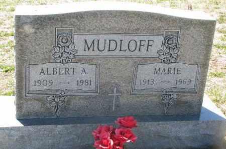 MUDLOFF, MARIE - Bon Homme County, South Dakota | MARIE MUDLOFF - South Dakota Gravestone Photos