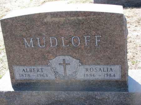 MUDLOFF, ROSALIA - Bon Homme County, South Dakota | ROSALIA MUDLOFF - South Dakota Gravestone Photos