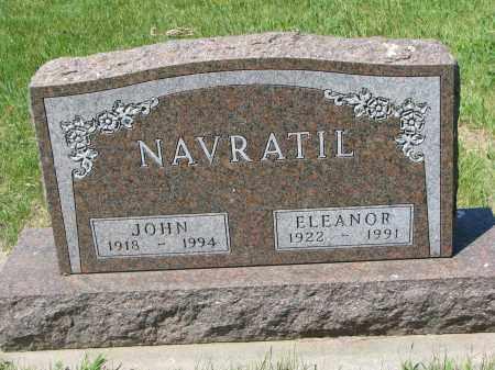 NAVRATIL, JOHN - Bon Homme County, South Dakota | JOHN NAVRATIL - South Dakota Gravestone Photos