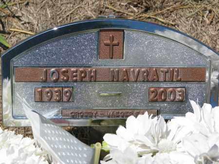 NAVRATIL, JOSEPH - Bon Homme County, South Dakota | JOSEPH NAVRATIL - South Dakota Gravestone Photos