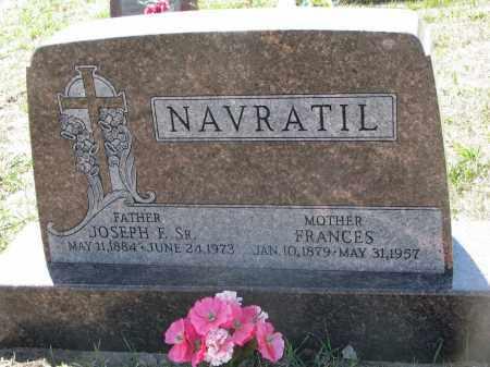 NAVRATIL, JOSEPH F. SR. - Bon Homme County, South Dakota | JOSEPH F. SR. NAVRATIL - South Dakota Gravestone Photos