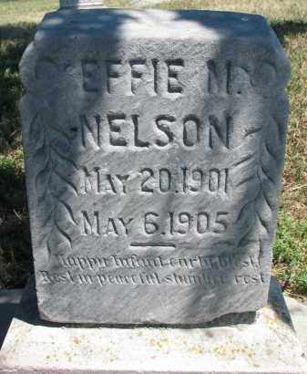 NELSON, EFFIE M. - Bon Homme County, South Dakota | EFFIE M. NELSON - South Dakota Gravestone Photos