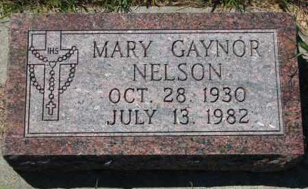 NELSON, MARY - Bon Homme County, South Dakota | MARY NELSON - South Dakota Gravestone Photos