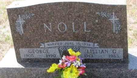 NOLL, GEORGE - Bon Homme County, South Dakota | GEORGE NOLL - South Dakota Gravestone Photos