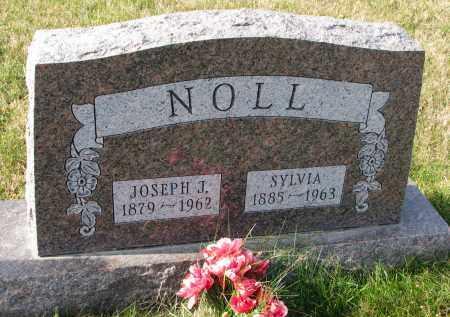 NOLL, SYLVIA - Bon Homme County, South Dakota | SYLVIA NOLL - South Dakota Gravestone Photos