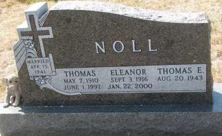 NOLL, ELEANOR - Bon Homme County, South Dakota | ELEANOR NOLL - South Dakota Gravestone Photos