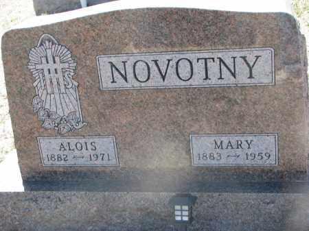 NOVOTNY, MARY - Bon Homme County, South Dakota | MARY NOVOTNY - South Dakota Gravestone Photos